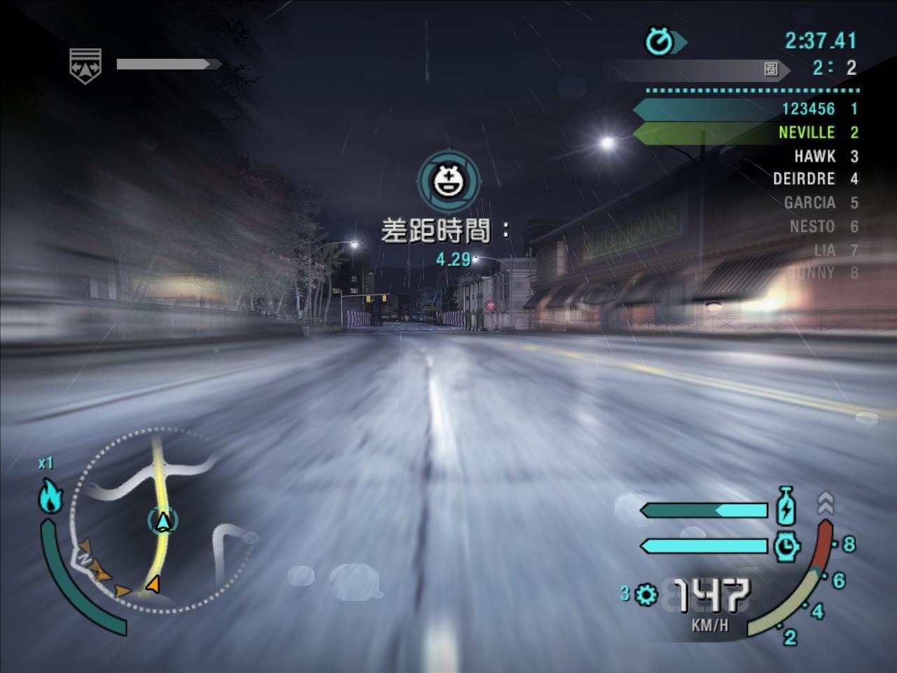 极品飞车10:卡本峡谷 游戏图片